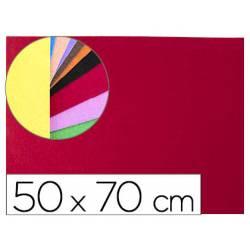 Goma Eva Liderpapel textura toalla color rojo