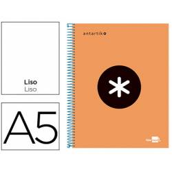 Bloc Espiral Liderpapel A5 serie Antartik naranja