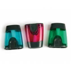 Sacapuntas plastico Liderpapel 1 uso