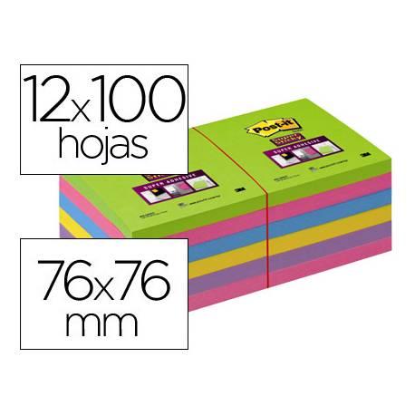 Pack 12 blocs de post-it ® colores surtidos