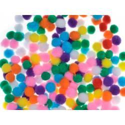 Pompones 10 mm Colores Surtidos itKrea