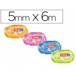 Cinta correctora marca Tesa 6 m largo