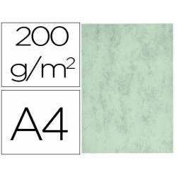 Cartulina marmoleada DIN A4 color Verde