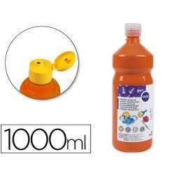 Tempera liquida Giotto color naranja 1000 cc