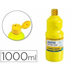 Tempera liquida Giotto color amarillo 1000 cc