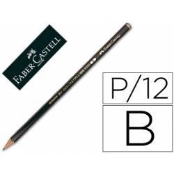 Lapices de grafito marca Faber Castell 9000 B
