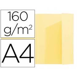 Subcarpeta Exacompta nature future din A4 amarillo 160 g/m2 con solapa interior