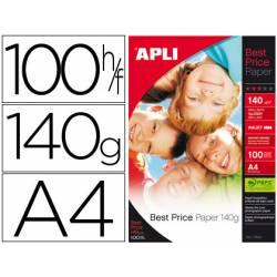 Papel foto Apli Glossy 140 g/m2