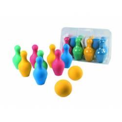 Bolos Foam 8 bolos y 2 pelotas Amaya