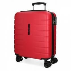 Maleta de cabina rígida Movom Turbo roja 55x40x20cm