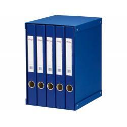 Modulo con 5 archivadores Pardo Folio Color Azul