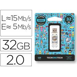MEMORIA USB TECH ON TECH BEERS & BYTES SAN MIDRIVE CERVEZA 32 GB