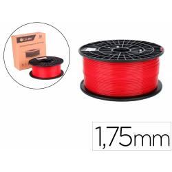 FILAMENTO 3D COLIDO ABS PREMIUM 1,75 MM 1 KG ROJO