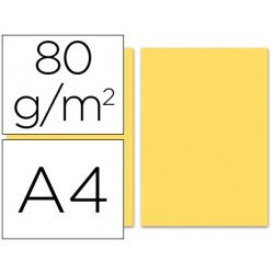 Papel color Liderpapel color crema A4 80 g/m2