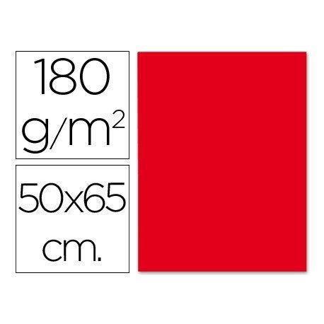 Cartulina Liderpapel 180 g/m2 rojo