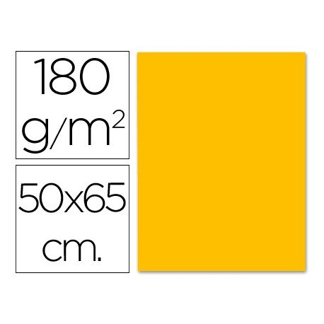 Cartulina Liderpapel 180 g/m2 naranja