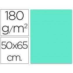 Cartulina Liderpapel 180 g/m2 color azul turquesa