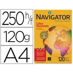 Papel multifuncion Navigator A4. 120 g/m2