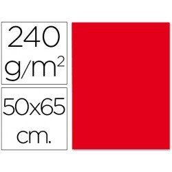 Cartulina Liderpapel color rojo 240 g/m2