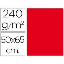 Cartulina Liderpapel color rojo 240 g/m2