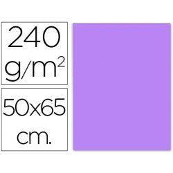 Cartulina Liderpapel color lila 240 g/m2