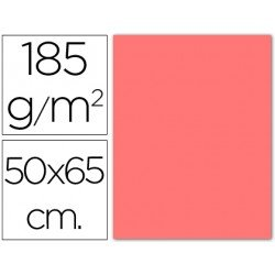 Cartulina Guarro rosa 500 x 650 mm de 185 g/m2