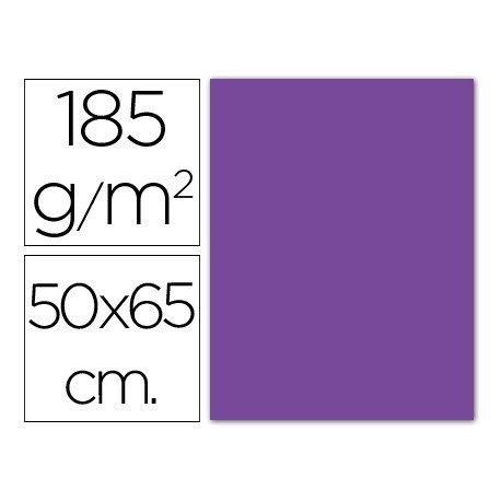 Cartulina Guarro violeta 500 x 650 mm de 185 g/m2