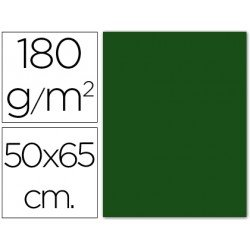 Cartulina Guarro verde abeto 500 x 650 mm de 185 g/m2
