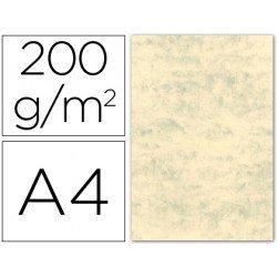 Cartulina marmoleada DIN A4 color Crema