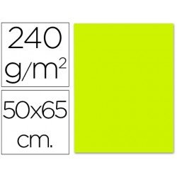 Cartulina Liderpapel color verde pistacho 240 g/m2