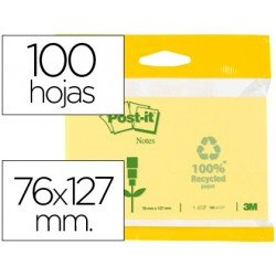 Bloc quita y pon Post-it ® 76 x 127 mm