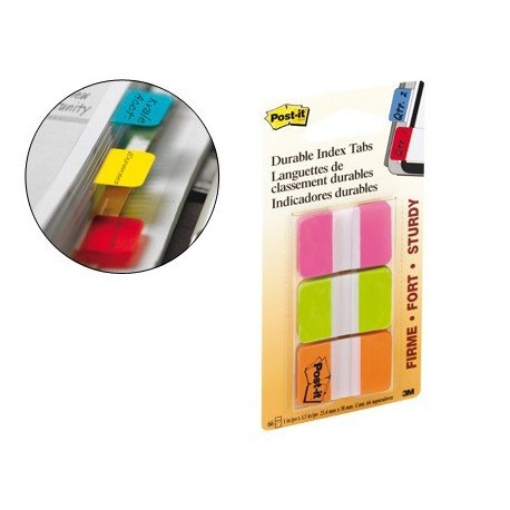 Index rigidos medianos Post-it ®