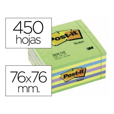 Bloc quita y pon Post-it ® 76 x 76 mm