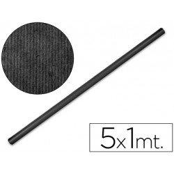 Bobina papel tipo kraft Liderpapel 5 x 1 m negro