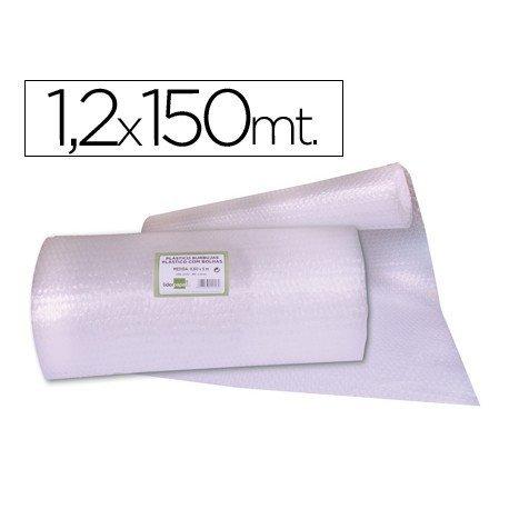 Rollo plastico burbujas 1,20x150M