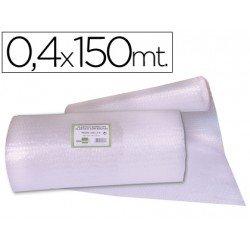 Rollo plástico burbujas 0,40x150M