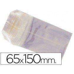 Bolsas de celofan 65x150 mm. Paquete de 100 unidades