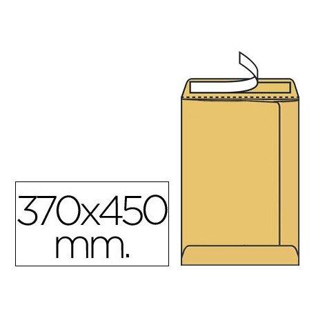 Sobres bolsa kraft K-36 Liderpapel, 370x450mm
