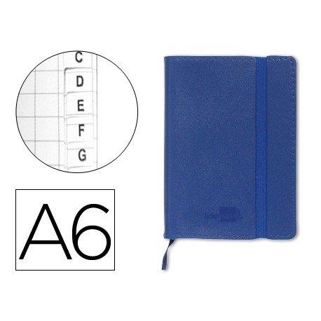 Cuaderno Liderpapel indice Din A6 encolada