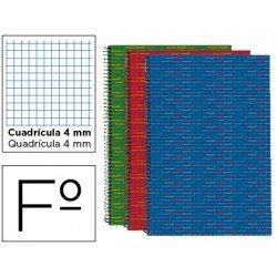 Bloc Folio espiral Tapa forrada serie Multilider marca Liderpapel