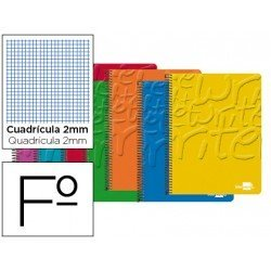 Bloc marca Liderpapel folio Write milimetrado sin margen
