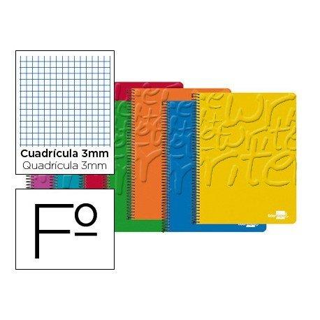 Bloc marca Liderpapel folio Write cuadricula 3 mm