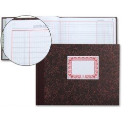 Libro de caja Cartone Milquerlrius tamaño cuarto Dietario