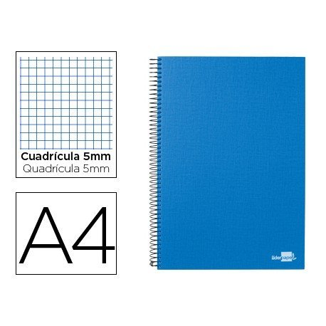 Bloc Din A4 espiral Microperforado serie Paper Coat Liderpapel