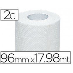 Papel Higienico Blanco Desechable 2 Capas 100 M