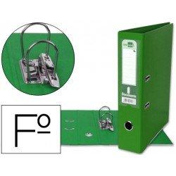 Archivador de palanca Liderpapel Documenta folio color verde