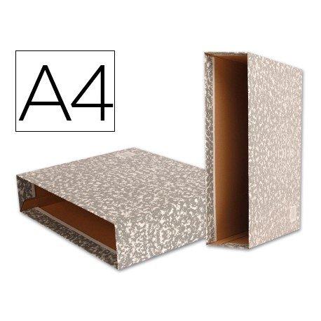 Caja archivador de palanca marca Liderpapel Classic Red Din A4