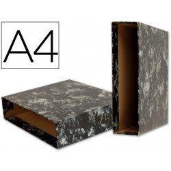 Caja archivador de palanca marca Liderpapel Classic Blue Din A4
