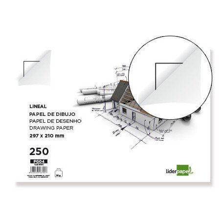 Papel dibujo marca Canson 210 x 297mm