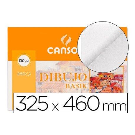 Papel dibujo Canson din a3 gramaje 130 g/m2